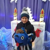 Єгоров Олександр і новорічна іграшка 3 місце с.Великоплоске
