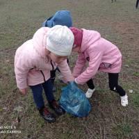 Прибирання пришкільної території