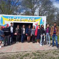 Зустріч Молодіжної ради з жителями с. Новосавицьке