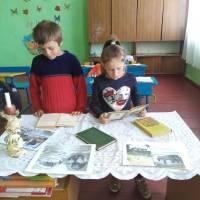 Книжкова виставка у Новосавицькій бібліотеці