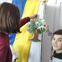 Голуби миру у Слов'яносербській бібліотеці-філії