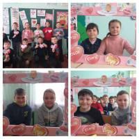 Святкування Дня Святого Валентина у Великоплосківському ОЗО