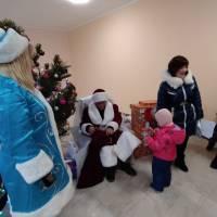Новорічна вистава у Тростянецькому СБК
