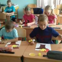 Олімпійський урок у початкових класах Великоплосківського ОЗО