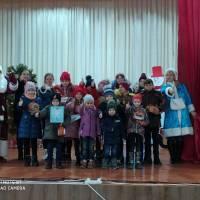 Учасники художньої самодіяльності Тростянецького БК