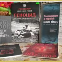 Книжкова виставка у Великоплосківській сільській бібліотеці-філії