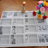 Інформаційний стенд до 100-річчя із дня народження Онілової Н.А. в Новосавицькій бібліотеці