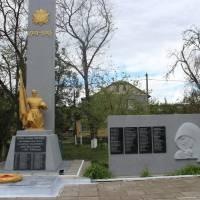 Алея пам'ятних знаків в смт Іванівка