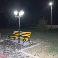 Аллея біля пам'ятника Захисникам України смт Іванівка