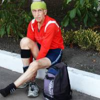 Найстарший учасник легкоатлетичного змагання