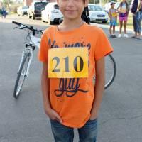 Юний учасник легкоатлетичного змагання