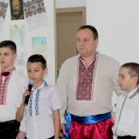 Учасники Тарасових читань у с. Красносілка