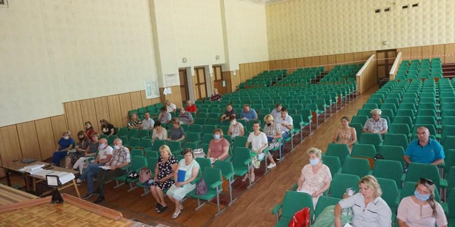 26 червня 2020 року відбулась двадцята сесія Любашівської селищної ради сьомого скликання.