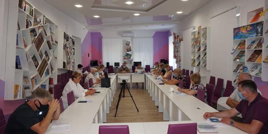 Голова Любашівської ОТГ Геннадій Павлов провів засідання комісії з питань Громадського бюджету в Любашівській селищній ОТГ.
