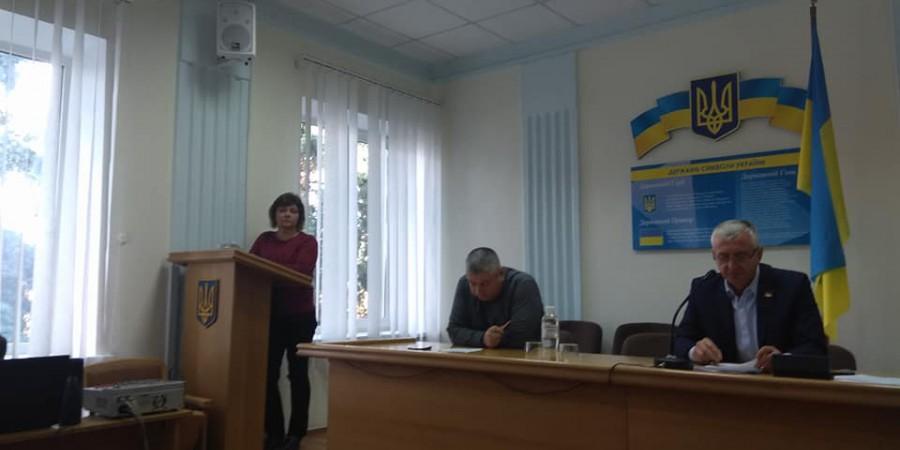10 жовтня голова Любашівської селищної ОТГ Геннадій Павлов прийняв участь у позачерговій сесії Любашівської районної ради сьомого скликання.