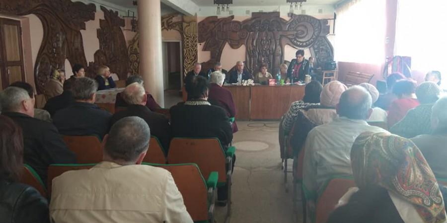 Голова Любашівської селищної ОТГ Геннадій Павлов прийняв участь у звітно-виборчій конференції Любашівської районної організації ветеранів України.