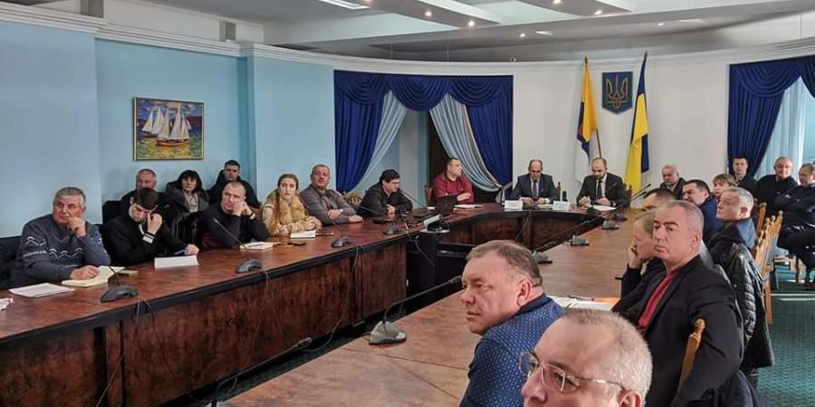 Голова Любашівської ОТГ Геннадій Павлов 15.01.2020 року прийняв участь у обговоренні законопроекту земельної реформи.
