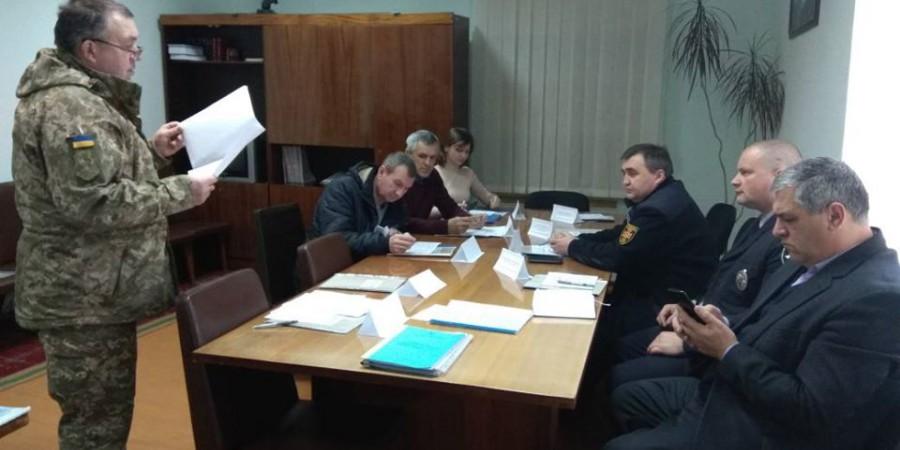 16 січня голова Любашівської ОТГ Геннадій Павлов прийняв участь у засіданні районного штабу територіальної оборони.