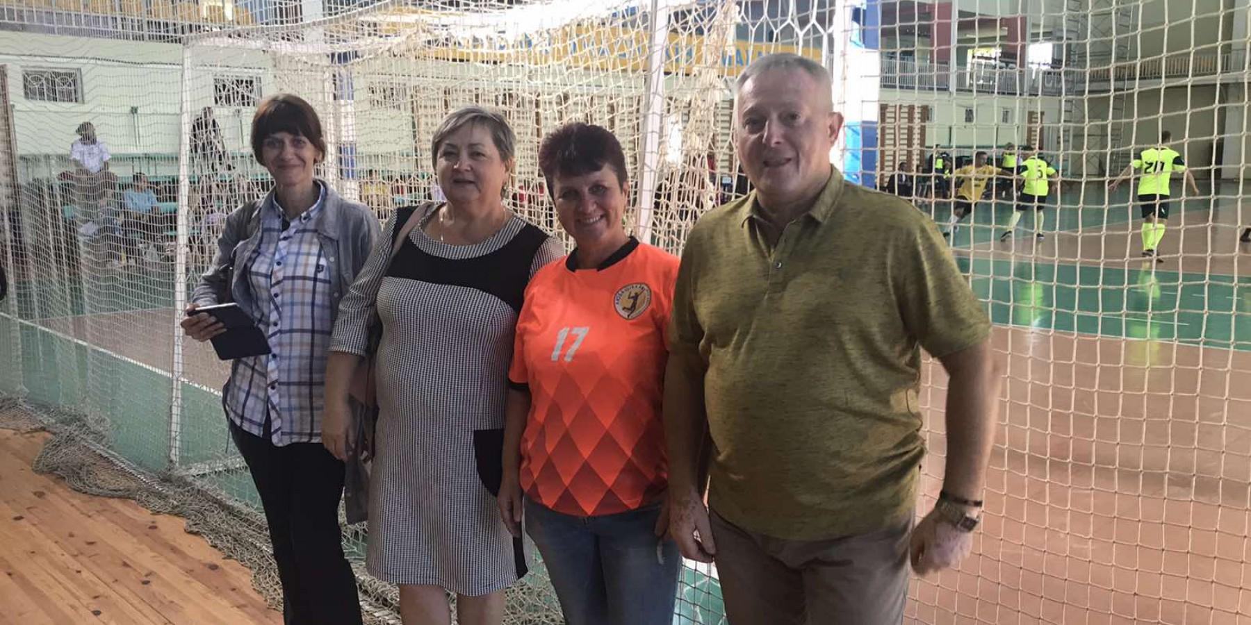 Збірна команда Любашівської селищної ради прийнялі участь у спартакіаді дерслужбовців в Овідіополі