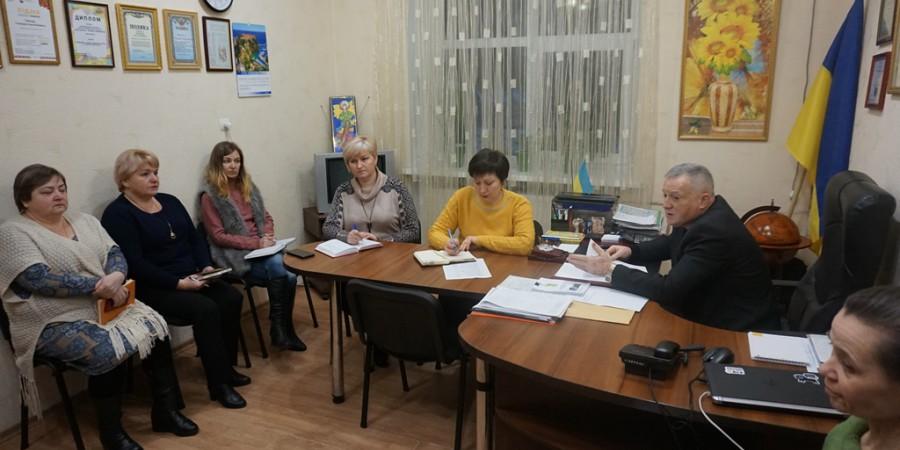 Голова Любашівської  селищної ОТГ Геннадій Павлов 20 січня 2020 року провів апаратну нараду.