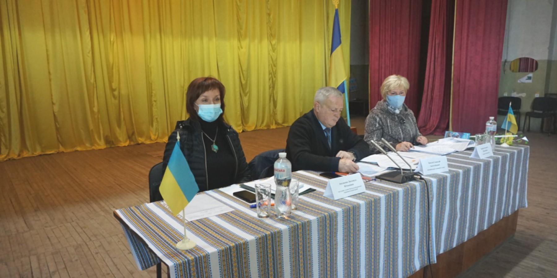 19 жовтня відбулася позачергова дев'ята сесія Любашівської селищної ради VІІІ скликання