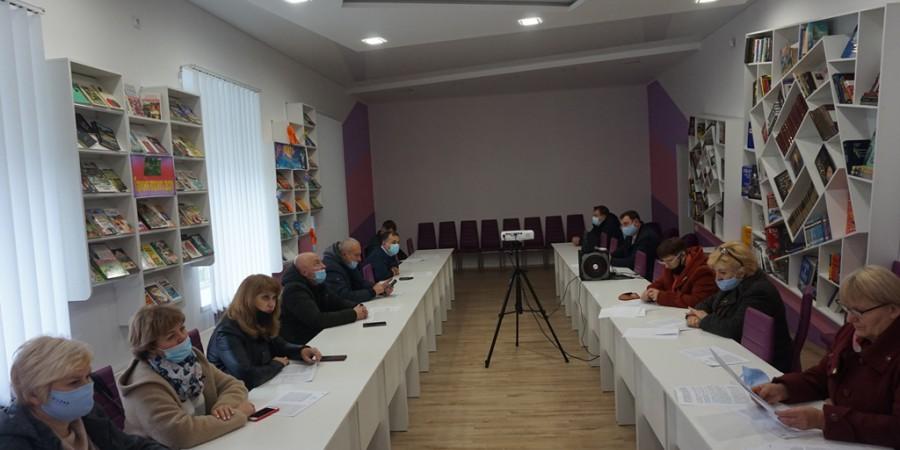 16 листопада 2020 року відбулось спільне засідання постійних комісій Любашівської селищної ради VII скликання.