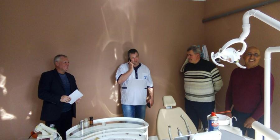 У Бобрицькому старостинському окрузі Любашівської ОТГ запрацював новий стоматологічний кабінет.