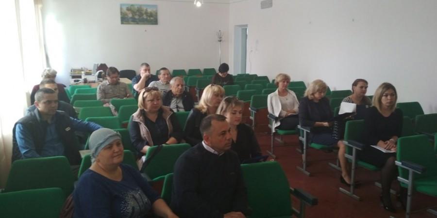 Засідання десятої позачергової сесії Любашівської селищної ради VІІ-о скликання, яка відбулась 14 травня 2019 року.