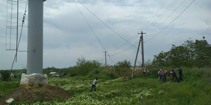 В Любашівській селищній ОТГ здійснюються роботи по заміні свердловинних насосів на енергозберігаючі.