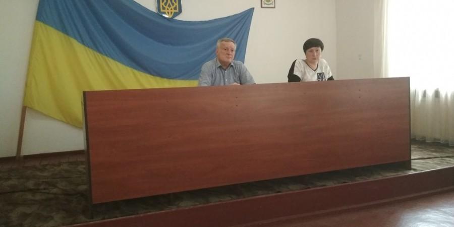 Засідання виконавчого комітету Любашівської селищної ОТГ 20.05.2019 року.