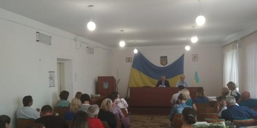 16 серпня 2019 року відбулось пленарне засідання 12 позачергової  сесії Любашівської селищної ОТГ.