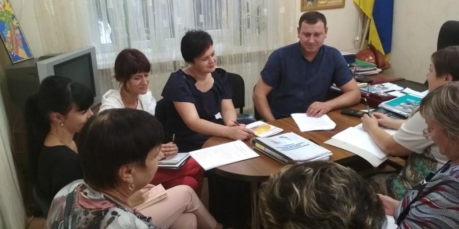 Засідання тарифікаційної комісії відділу з питань освіти, культури, спорту та молодіжної політики Любашівської селищної ОТГ.