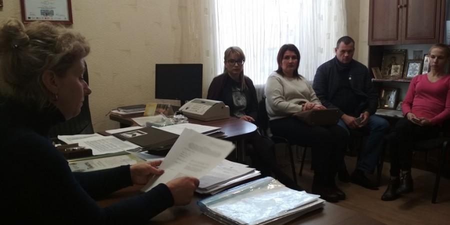 09.10.2019 року відбулось засідання  місцевої комісії виконкому Любашівської  селищної  ради щодо спрямування субвенції з державного бюджету.