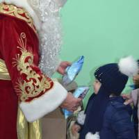 Святий Миколай привітав дітей солодкими подарунками 19.12.2018р