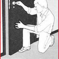 Рис. 2 Захист помешкання від диму та продуктів горіння