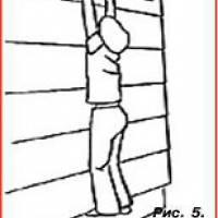 Рис.5 Евакуація через вікно
