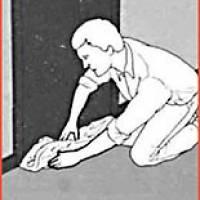 Рис.1 Прочинення дверей