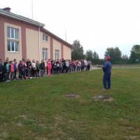 Олімпійський урок у  Людинській школі