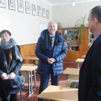 Візит делегації гміни Рацеховіце до Привільненської ЗОШ