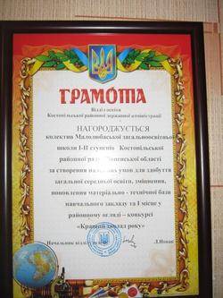 Фото Малолюбашанська гімназія