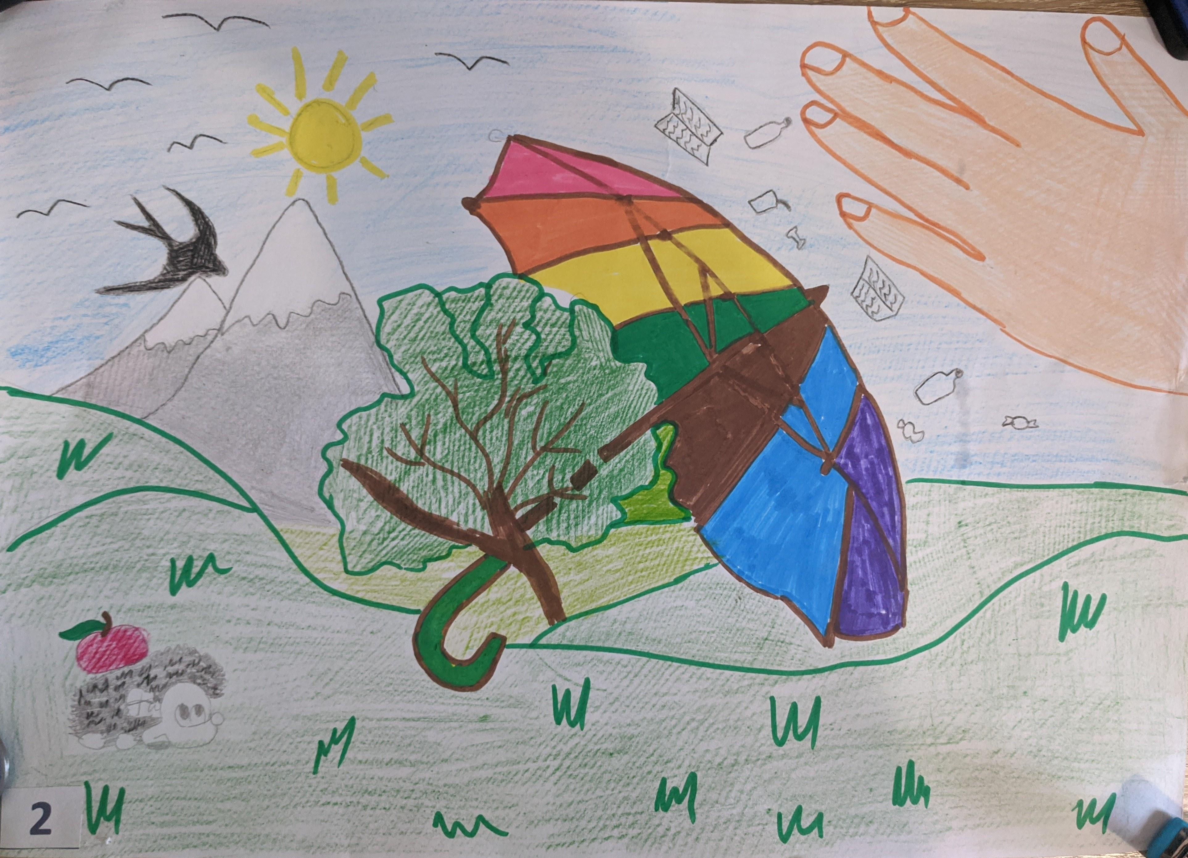 Роботи учасників конкурсу «Бережи природу – розділяй відходи»