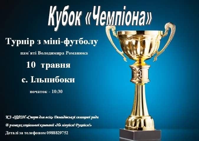 Турнір з міні-футболу пам'яті Володимира Романюка