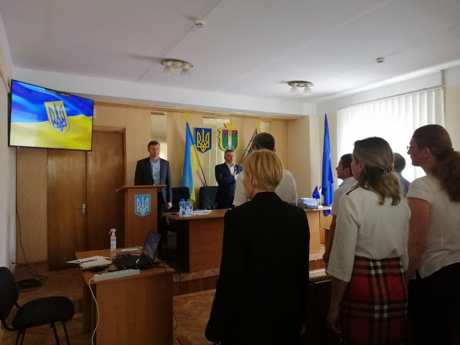 Відбулось засідання 7 сесії8 скликання Демидівської селищної ради.