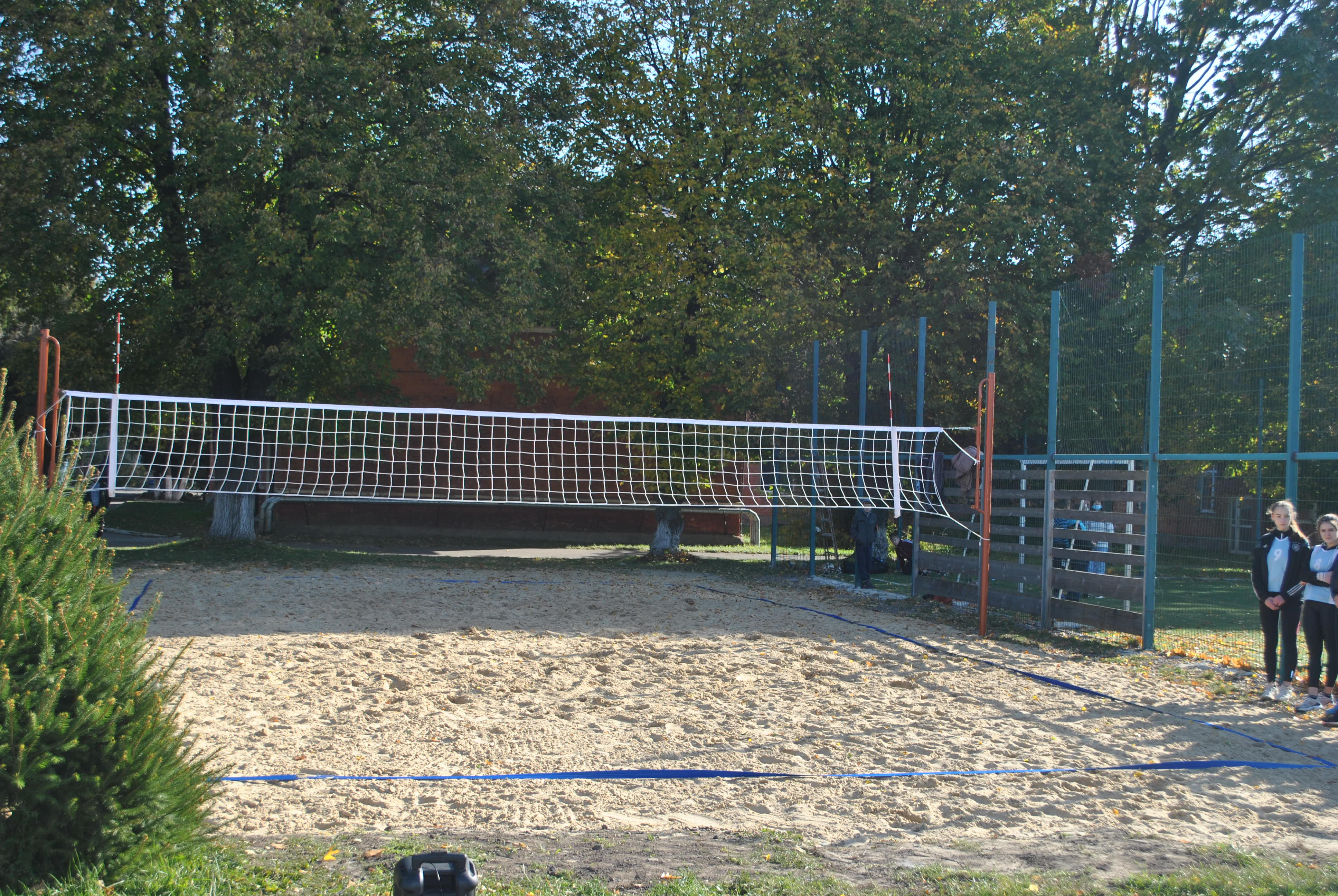 Відкриття «Майданчика для пляжного волейболу»