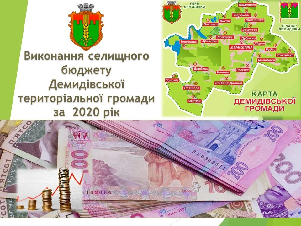 Публічне представлення бюджету за 2020 рік
