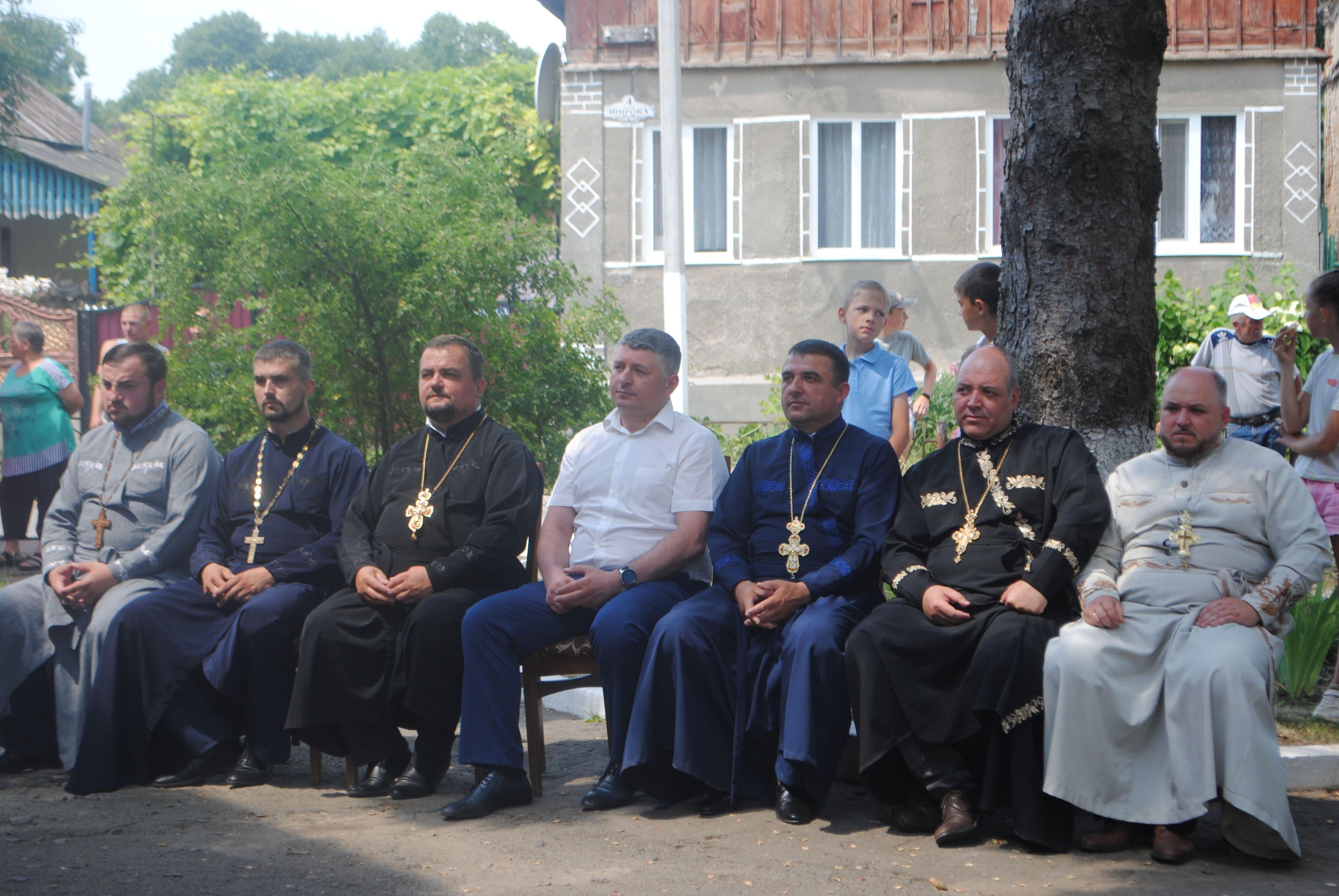 Святкування дня села у с. Вовковиї