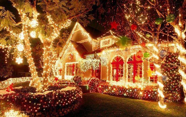 Конкурс на краще оформлення вітрин, об'єктів соціальної сфери та приватних будинків до Різдвяних та Новорічних свят.