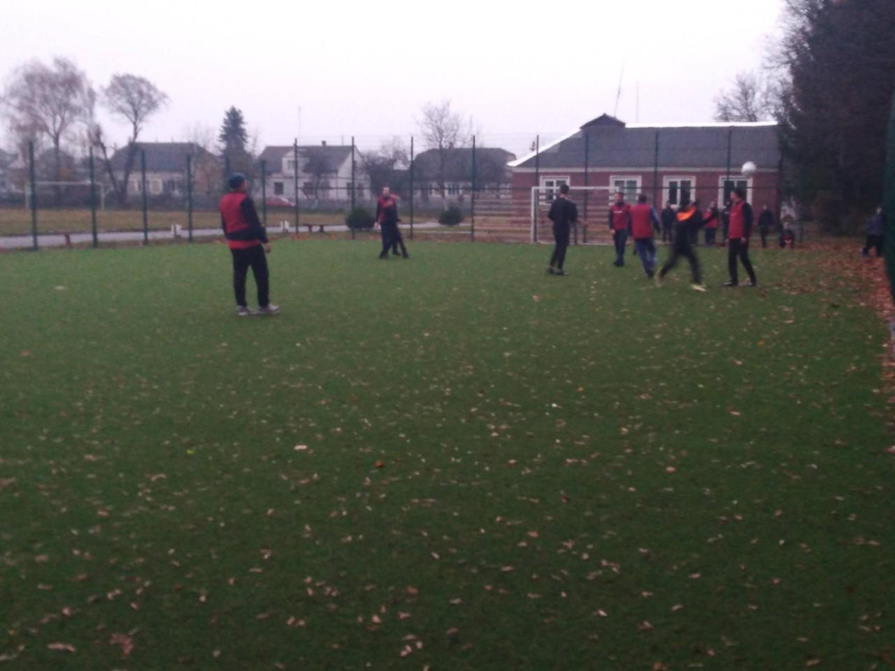 Змагання з футболу між командами ДЮСШ
