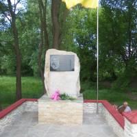 Пам'ятник Т.Г. Шевченку біля Шевченкового джерела у с. Пустоіванне