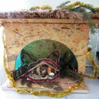 Різдвяна шопка в ПШБ с. Березини
